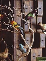 unique tree ornaments 27 pc clip on bird vintage