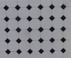 octagonal floor tiles dolls house