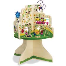 wooden bead toy table tree top adventure activity table activities toy and child