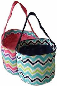 easter buckets chevron easter buckets small creative gifts and embroidery