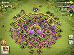 Home Design Game Levels Clash Of Clans Town Hall Level 7 Base Layouts Coc Th7