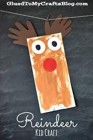 paper bag reindeer kid craft craft christmas decor and puppet