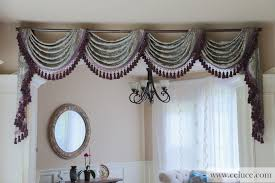 swag valance curtains home design ideas and pictures