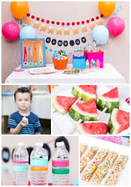 simple decoration for birthday party at home host your own field day party at home