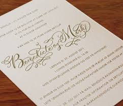personalized cards wedding customized wedding invitations in all languages letterpress