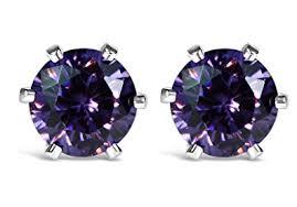 beautiful earrings beautiful sterling silver swarovski zirconia stud earrings 5mm