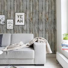 Wood Wall Living Room Grey Vintage Wood Wallpaper Peel And Stick Wood Wall Paneling