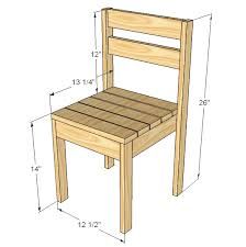 Easy Wood Projects Plans by Ana White Build A Four Dollar Stackable Children U0027s Chairs Free