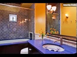 mediterrane badezimmer moderne mediterrane badezimmer mit viel farbe und muster
