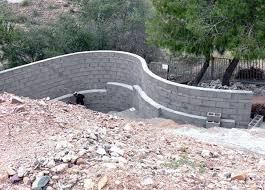 Retaining Wall Calculator And Price Wall Conditions Layout And Dimensioning Masonry And Concrete