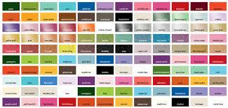 9 best images of pearl paint color chart pearl car paint colors