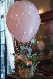 hot air balloon centerpiece hot air balloon party pretty my party