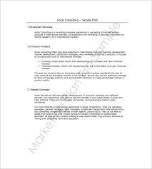 sales and marketing plan templates u2013 18 free word excel pdf