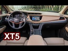 cadillac jeep interior 2017 cadillac xt5 interior youtube