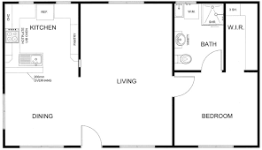 Floor Plan Granny Flat Modern One Bedroom Granny Flat Plans U2013 Our Most Popular Designs