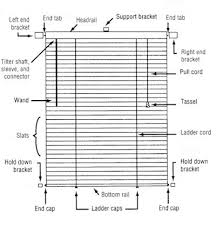 Installing Window Blinds Blind Alley Levolor Riviera Blinds Installation Instructions