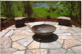Paver Designs For Patios by Backyards Winsome Flagstone Patio Pavers Design Ideas For