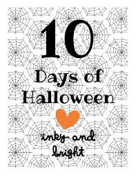 Halloween Paper Decorations Printable by Paper A Little Bright Page 3