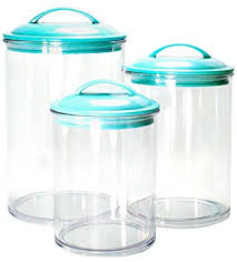 glass kitchen storage canisters calypso basics by reston lloyd acrylic storage