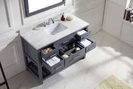 48 Single Sink Bathroom Vanity by Virtu 48 Inch Caroline Estate Bathroom Vanity Set New Bathroom Style