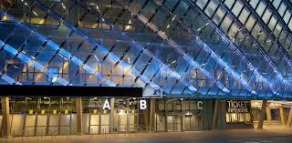 Exterior View Engineering Tele2 Arena In Stockholm Wsp