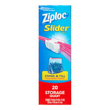 Walmart Furniture Moving Sliders by Ziploc 20 Count Qt Slider Stor Bag Walmart Com