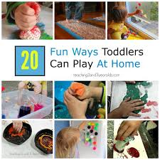 20 and easy toddler activities for home toddler activities