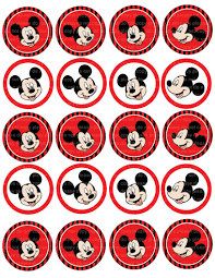 12 images mickey mouse printable stickers free printable