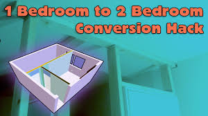 Bedroom Furniture Set Groupon 1 Bedroom To 2 Bedroom House Hack Youtube