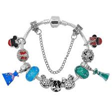 european style charm bracelet images Hot european style mickey minnie love charm bracelets for women jpg