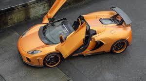 orange mclaren 12c mclaren mp4 12c spider terso by fab design
