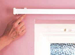How To Put Up Blinds Putting Up A Curtain Track Memsaheb Net