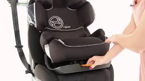 siege auto cybex pallas cybex pallas 2 fix car seat kiddicare