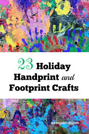 23 holiday handprint and footprint crafts for kids earning and