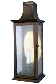 Copper Wall Sconce Elizabeth Colonial Outdoor Copper Lantern Wall Sconce
