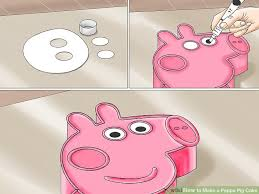 peppa pig cake how to make a peppa pig cake 12 steps with pictures wikihow