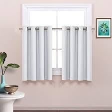 Curtain In Kitchen by Cafe Curtains In Kitchen Amazon Com