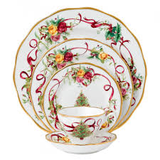 country roses tree 5 place setting royal