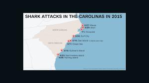 Map Of The Carolinas Usa by What U0027s Behind Increase In Shark Attacks Off Carolinas Cnn
