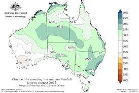 National Rain Map Australian Rainfall Outlook Archive