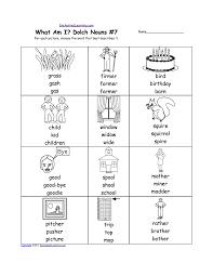 Nouns Worksheet Nouns Worksheets For Kindergarten U0026 Printables Printable Noun