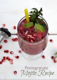 mojito recipe pomegranate mojito recipe