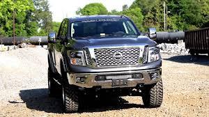 nissan titan leveling kit 2016 nissan titan xd 20 inch led light bar bumper mount by rough