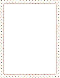 polka dot stationery printable black and white polka dot border free gif jpg pdf