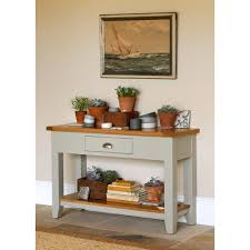 Narrow Hallway Table by Caldecote French Grey Hall Table Paint Furniture Terracotta And