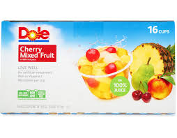 dole fruit snacks dole fruit cups cherry mixed fruit wholesale snacks delivered