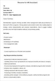 Updated Resume Templates Hr Resume Templates Executive Resume Samples 12 Human Resources