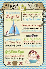 pirate baby shower invitations wblqual com