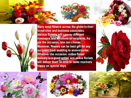 sending flowers why do you to use online flower delivery for sending flowers