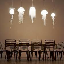 Paper Pendant Light Jellyfish Inspired Pendant Lights Tequestadrum